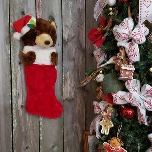 - Sweet Bear Large Christmas Stocking
